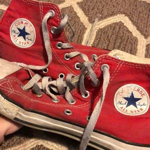 """Well loved size 2 """"Chuck Taylor""""'s"""